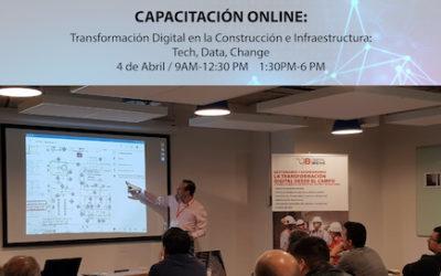 Curso online: Transformación Digital en la construccion & infraestructura